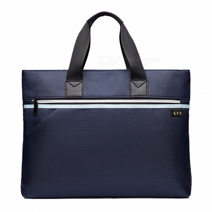 acdb7ad8b4 Vintage Cowhide Briefcase Men Business Laptop Tote Bags Casual Men s  Messenger Shoulder Bag Handbags Blue
