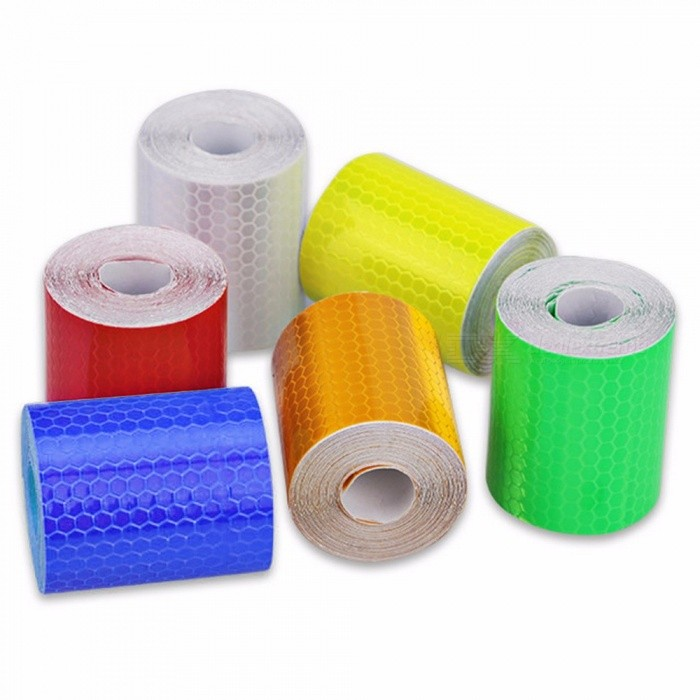 5cm*300cm Car Reflective Tape, Decoration Sticker, Car Automobile Warning Safety Tape Film, Auto Reflector Sticker
