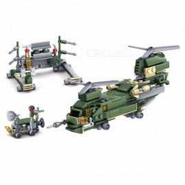 Military-Field-Army-DIY-Model-Building-Blocks-Kit-Assembled-Models-Educational-Toys-For-Kids-Birthday-Christmas-Gifts-Army-Green
