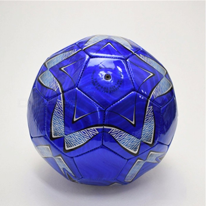 PVC Soccer Official Football Soccer Ball Outdoor Sports Competition Training Ball For Adult Children Birthday Gifts Blue