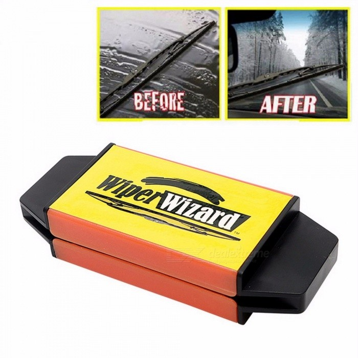 Car Windshield Wiper Wizard Blade Restorer With 5pcs Microfiber Cloth Cleaning Brush Van Windscreen Cleaner Car Styling