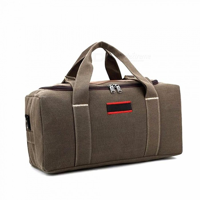 Vintage Handbags Men's Casual Tote For Men Large-Capacity Portable Shoulder Bags Fashion Travel Bags Package Brown