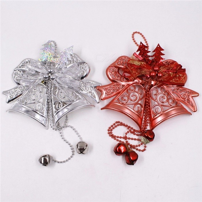 Jingle Bells Festival Party DecorationChristmas Tree Decorations Impressive Silver Bells Decorations