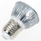 E27 3W 270lm 6500K Cold White Light 3-LED Cup Bulb (AC 85~265V)