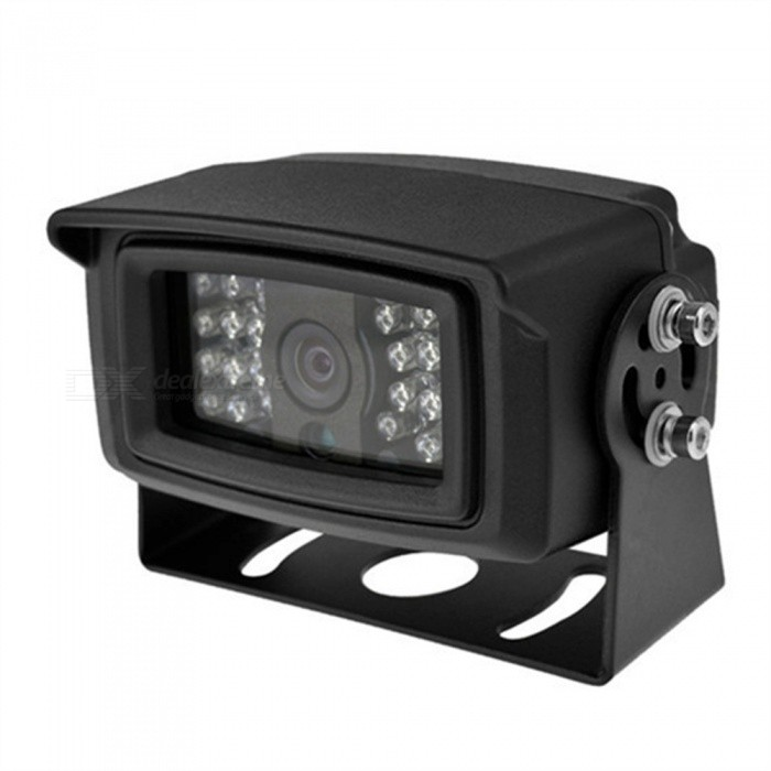 OJADE CMOS 24-LED Light Rear View Camera with Waterproof Night Vision for Bus Car
