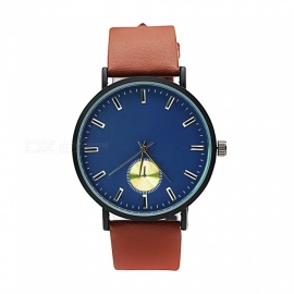 Cooho-C11-Mens-Casual-Chic-Business-Wristwatch-Brown