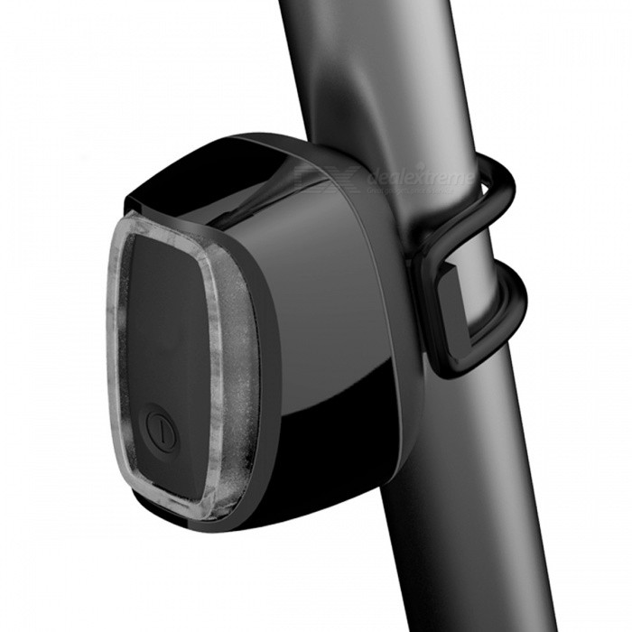Kitbon X6 USB Rechargeable Waterproof Smart Bicycle Tail Light - Black