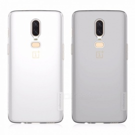 Nillkin For OnePlus 6/A6000 Mobile Phone Cases TPU Mobile Phone Protector Mobile Phone Back Case Light Gray