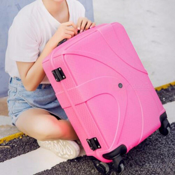Universal-Fashion-Travel-On-Road-Luggage-Suitcase-Carry-On-Travel-Trolley-Luggage-Pink-Red