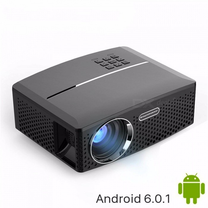 LED Projector GP80 / UP 1800 Lumens Portable