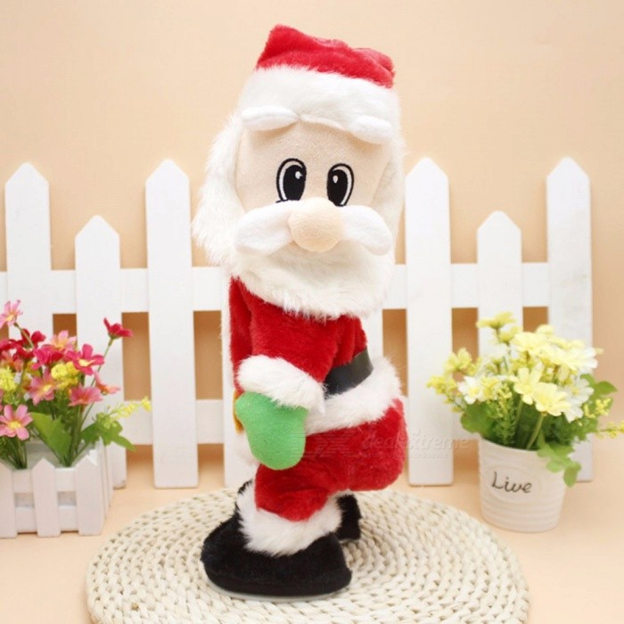 Christmas-Electric-Santa-Claus-Toys-Dynamic-Shaking-Hip-Music-Electric-Doll-Toys-Christmas-Decorations-Gifts-Red