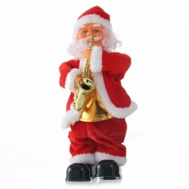 Christmas-Santa-Claus-Playing-Instrument-Toys-Dynamic-Music-Electric-Doll-Toys-Christmas-Decorations-Gifts-Red
