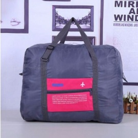 Large-Capacity-Luggage-Packing-ToteShoulder-Travel-Shopping-Big-Bags-Folding-Clothes-Storage-Pouch-Shoes-Organizer-Rose-Red