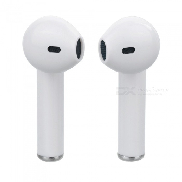 227fc92081f ... i7s TWS Mini Bluetooth Earphone Wireless Headset with Charging Box Base  - White ...