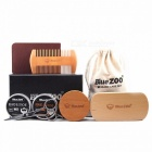 Bluezoo-1Set-Beard-Care-Toiletry-Kits-Burlywood-Double-sided-Comb-Sets-2-Beard-Brush-2-Mustache-Oil