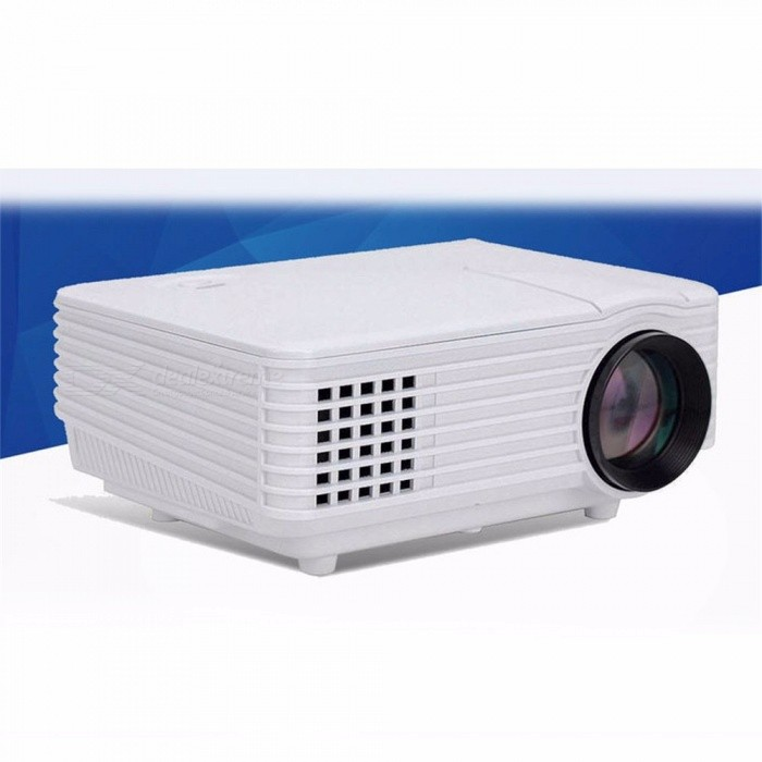 RD805 Wifi Projector Portable Projector LED Home Cinema Digital Bluetooth Projector white