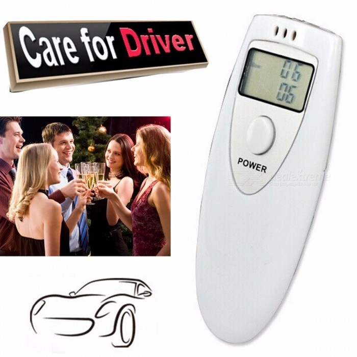 Buy PFT-6387 Mini Portable Digital Alcohol Breath Tester Air Blow Analyzer Breathalyzer Detector Test with Litecoins with Free Shipping on Gipsybee.com