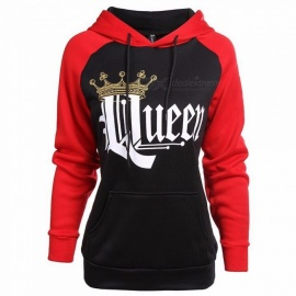 Queen-King-Hoodies-Couple-Sportswear-Tracksuits-Gym-Fitness-Trainning-Exercise-Sweaters-Women-Print-Sweatshirts-Multi
