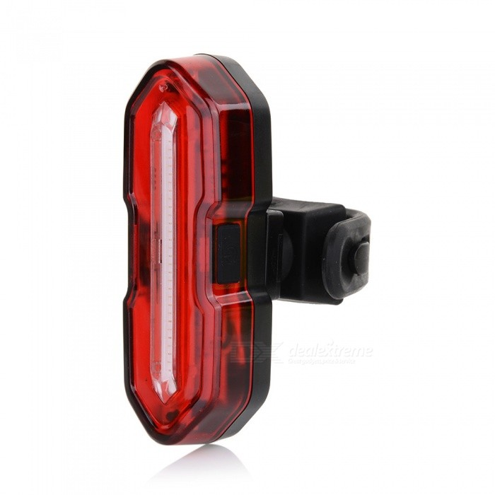 Super Bright Bike Light USB Rechargeable, Mountain Bicycle With LED CreativeTaillight Safety Warning Light
