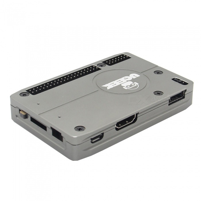 Geekworm Ultra-Thin Aluminum Alloy Case for Raspberry Pi Compute Module 3 CM3/CM3L / IO Board