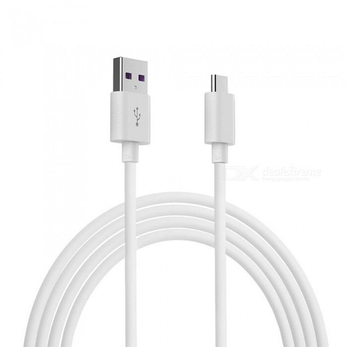 2m 5A USB Type-C Fast Charge Sync Data Cable for Huawei P20/P20 Lite/P20 Pro/Mate 9 Pro/Mate 10/P9/Mate RS