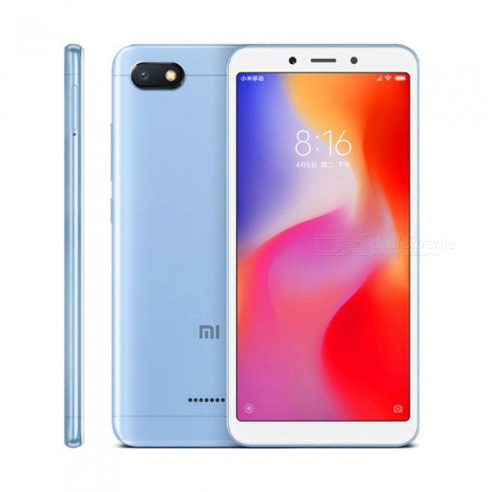 Xiaomi Redmi 6A Android Phone with 2GB RAM, 32GB ROM - Blue