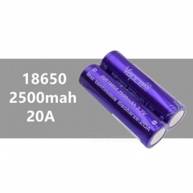 2-pcs-VAPCELL-18650-2500mAh-20A-37V-Rechargeable-High-Capacity-Lithium-Battery-Continuous-20A