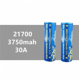 2-pcs-VAPCELL-21700-3750mAh-30A-37V-Rechargeable-High-Capacity-Lithium-Battery-Continuous-30A