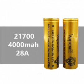 2-pcs-VAPCELL-21700-4000mAh-28A-37V-Rechargeable-High-Capacity-Lithium-Battery-Continuous-28A