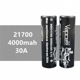 2-pcs-VAPCELL-21700-4000-mAh-30A-37V-Rechargeable-High-Capacity-Lithium-Battery-Continuous-30A