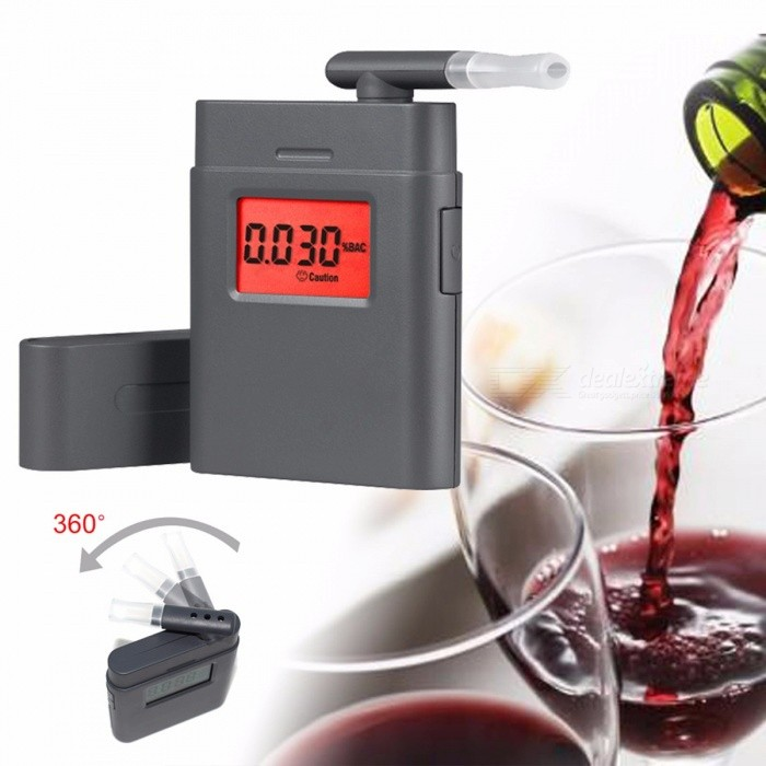 Buy Fashion Portable High Accuracy Mini Alcohol Tester Breathalyzer Alcometer Car Driver Self Alcohol BAC Tester with Litecoins with Free Shipping on Gipsybee.com