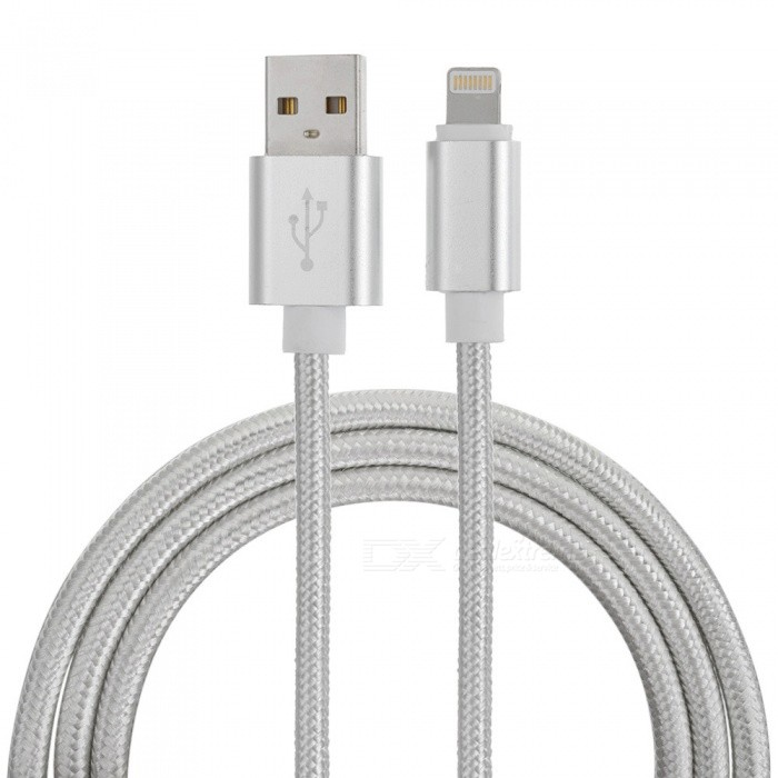SZKINSTON Nylon Braided 8 Pin Lightning Male to USB3.0 Male High Speed Charging Sync USB Data Cable