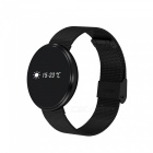Eastor CF006 Smart Watch Bracelet with Heart Rate /Blood Pressure /Blood Oxygen Monitoring - Black Steel Band