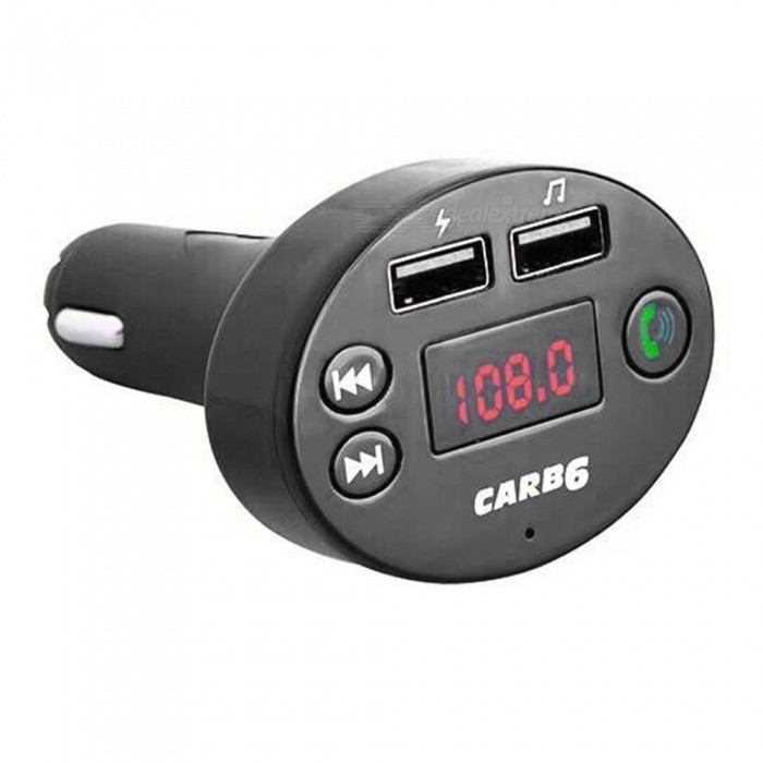 Quelima Car Bluetooth Handsfree Transmitter B6 Car MF Transmitter