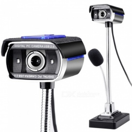 F11-Drum-Enhanced-Version-HD-Network-Computer-Camera-USB-Monitor-with-Microphone-Black