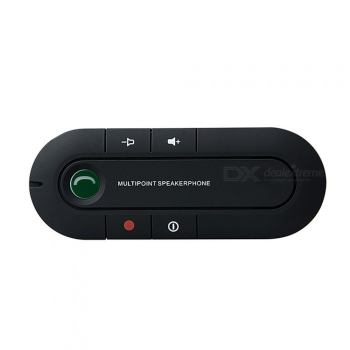 Universal Wireless Multipoint Magnetic Handsfree Bluetooth Car Kit w/ Car Speaker