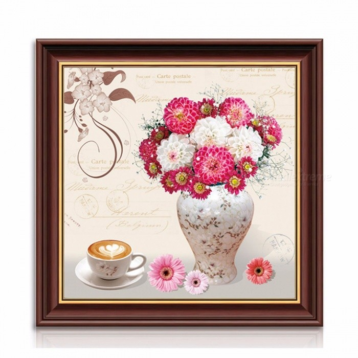 Buy Diy Diamond Painting Happiness Tenderness Vase Rhinestone Cross Stitch 1pcs 5D Home Decor Diamond Embroidery Multi with Litecoins with Free Shipping on Gipsybee.com