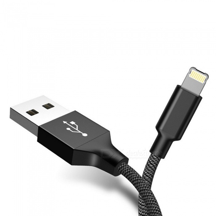 Vissko Micro USB Lightning 2 In 1 Cable 2.4A Fast Charge Data Cable Dust 1m For IPHONE Android /1m