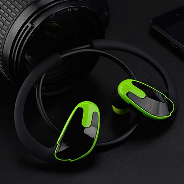 R8 Unisex Single Track Stereo Headphone Sports CSR Style Wireless Bluetooth 4.1 Earphones Ear Hook Headset Red