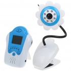 24GHz-Wireless-8-LED-Night-Vision-Camera-with-15-LCD-Handheld-Baby-Monitor-Blue-Flower
