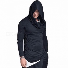 T15-Fashion-Stacked-Collar-Pullover-Mens-Jacket-Hoodies-Casual-Loose-Hooded-Thin-Sweater-Coat