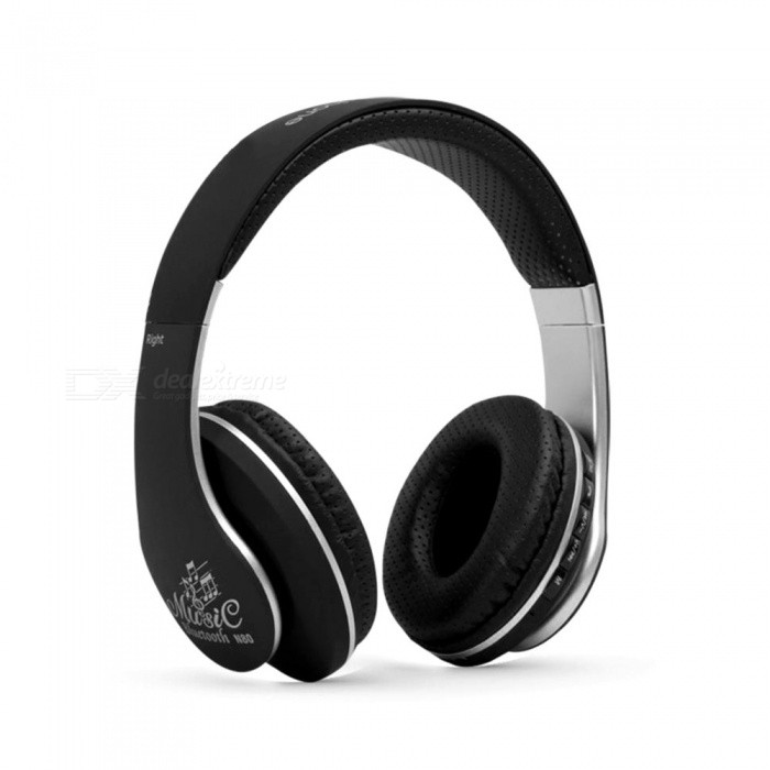 N80-Portable-Bluetooth-Stereo-Headphone-Wireless-Head-Mounted-Headset-Supports-Hands-Free-Call-White