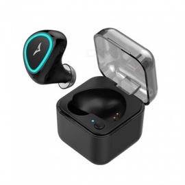 TZ9 Mini Bluetooth Earphone, Portable Wireless Earbuds With Charging Box, Microphone, Long Working Time White