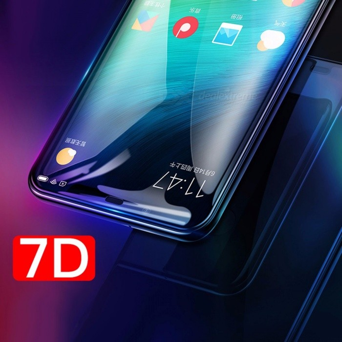 BASEUS Ultrathin Tempered Glass Film 7D Curved Surface Full Screen Protector For Xiaomi MI8 SE, MI8 Transparent/XIAOMI MI8 SE
