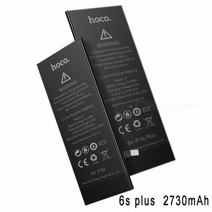 HOCO J7 Replacement Battery High Capacity Li-polymer Built-in Lithium Batteries For Apple IPHONE 6S PLUS
