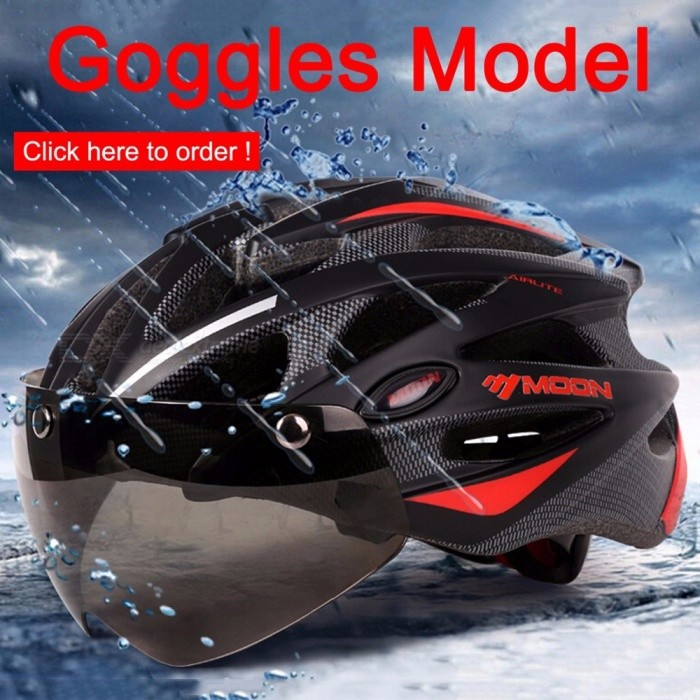 MOON Cycling Helmet Ultralight Bicycle Helmet In-mold MTB Bike Road Mountain Helmet Cycling Equipment