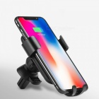 HOCO-Mobile-Phone-Holder-Car-Air-Vent-AutoBot-Gravity-Car-Air-Outlet-Mount-Cell-Phone-Bracket-Black