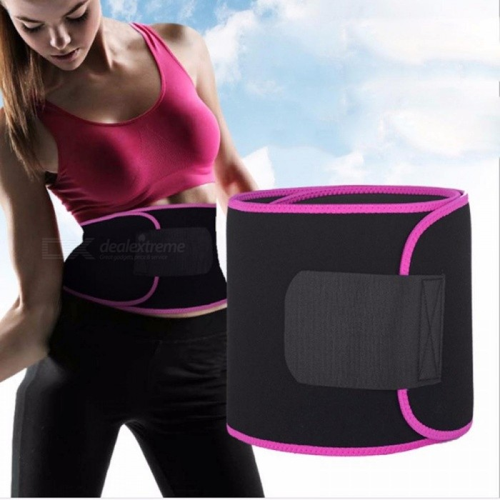 Sports Waist Support Trainer Bald Body Postpartum Abdomen Belt Bodybuilding Slimming Body Corsets Waist Belt /Medium