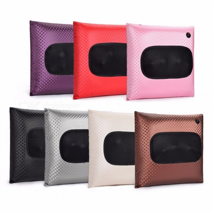 New Home Car Rechargeable Legs Neck Waist Hips And Back Wireless Massage Pillow Random Color