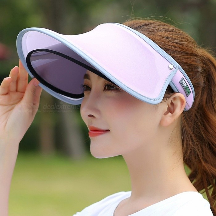 Fashion Casual Dual Layer Top Empty Cap Shade Female Summer Large Brim Sunproof UV Protection Women Sun Hat Green